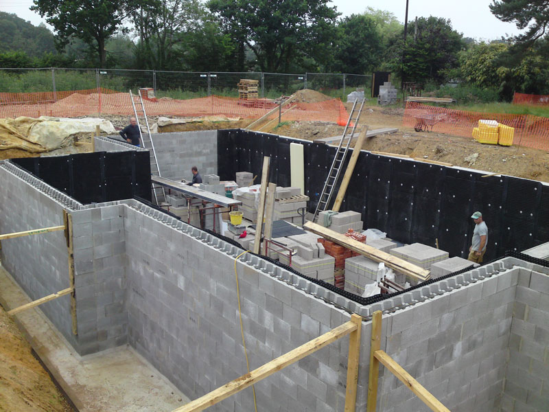 Underground Concrete Building : Bentley beavoir ltd high quality building services